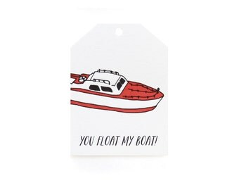 Classroom Valentines - Float Boat