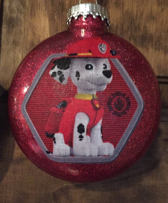 Marshall Paw Patrol Christmas ornament