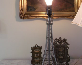 Vintage Eiffel Tower Table Lamp City of Lights Paris Apt CHic
