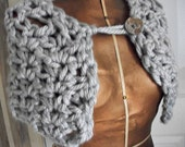 Outlander inspired capelet, Silver Grey, Women/Teens by AngelAndFairyDesigns on Etsy.com