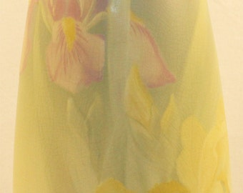 Weller Pottery Hudson Two Iris Vase