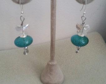 Blown Glass Earrings