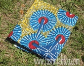West African Wax Cotton Print Fabric - African Ankara Fabric - Kryptonite