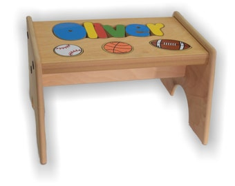 Sport Puzzle Stool (up to 8 letters)