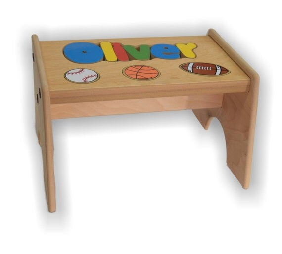 Sport Puzzle Stool Up To 8 Letters