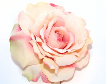 Perfectly Pink Georgia Rose - Artificial Flowers, Silk Flower Heads - PRE-ORDER