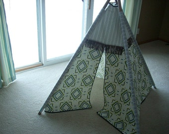 kids teepee playhouse tent