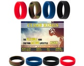 Buy 1 Get 1 FREE- Climb Brand Rings, Silicone Rings, Wedding Rings, Silicone Bands - FREE USA Shipping
