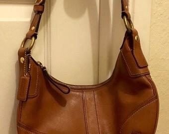 Coach bag-- brown