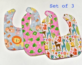 Baby Girl Bibs Baby Accessories Infant Drool Bib Set, Baby Gift, Baby Bib, Colorful Bibs