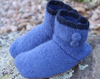 Wool Toddler Slippers: Medium 8-10