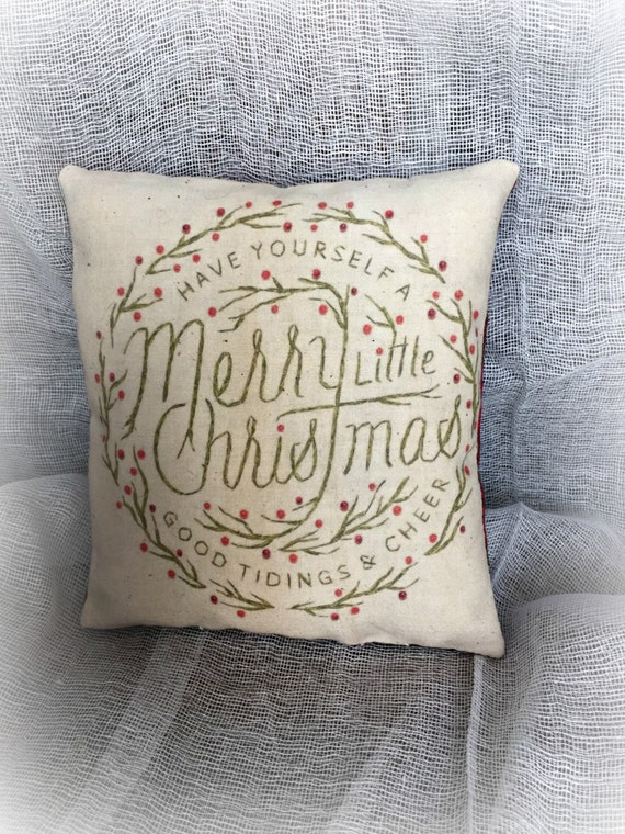 Merry Christmas  - mini pillow