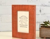 """4x6"""" Picture Frame in Escalante Style with Vintage Copper Finish - IN STOCK Sale Frame - Decorative Rustic 4 x 6 Frame - Same Day Shipping"""