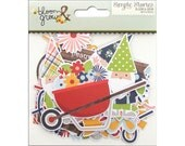 Bloom & Grow Bits and Pieces Cardstock Die-Cuts 57/Pkg Simple Stories (7129)