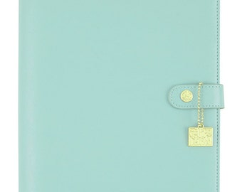 Robin's Egg Carpe Diem A5 Planner Binder Posh (IN STOCK) Free Washi Tape with this order