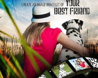 Make your own photo bracelet with My Image Bracelet Maker!