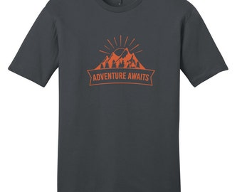 Adventure Awaits - Quote T-Shirt