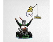 Dark Souls Invades Mario Kart (Knight Solaire)
