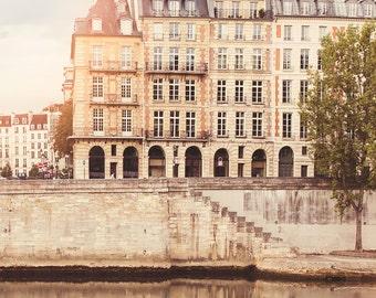 """Paris Photography // Paris Prints // Paris Architecture // Travel Photography // Square Format Prints // Europe  - """"Paris Seine"""""""