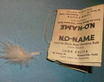 Original John Fujita NO NAME Fishing Lure for Black Bass • patent pending