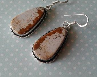 Jasper Earrings,Cowgirl Earrings,Country Western