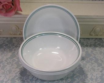 Corelle Corning Ware Rosemarie Soup Cereal Bowl, Set of Six, Vintage Mid Century Dinnerware, Kitchen Pyroceram Glass, Corning Ware Casserole
