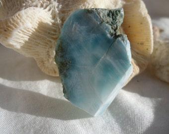 Larimar Slab #13 - Twin Flame - Soul Mate - Atlantis - Sacred Union Stone