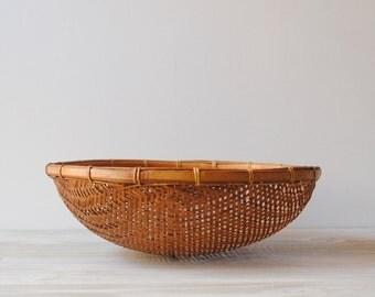 Vintage Basket Bowl