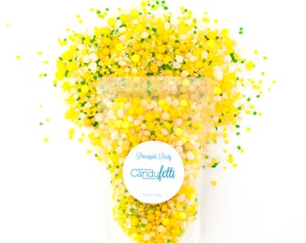Pineapple Party 6 oz. Candyfetti™ Candy Confetti Sprinkles