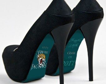 Custom hand painted Graduation Class of 2017 heels
