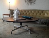 "MOD-LOVE SALE! Vintage Herman Miller Eames Coffee Table 42"" Round Mid Century Modern Coffee Table"