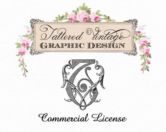 Tattered Vintage COMMERCIAL Use LICENSE