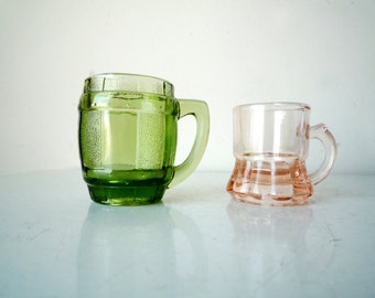 Vintage Shot Glass Set, SALE