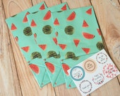 Watermelon Summer Fruits Paper Bags