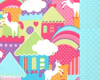 Unicorn Town Nap Mat Cover - Basic Kindermat Cover
