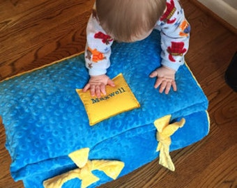 Maxwell's All MINKY Nap Mat by janiebee.com