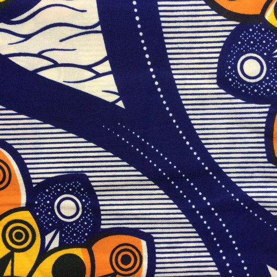 African Fabric By The Yard African Wax Print Fabulous