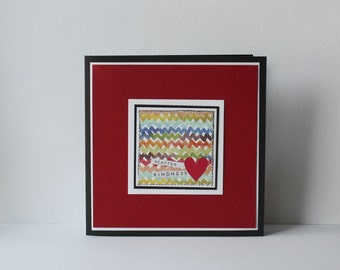 Scatter Kindness Handmade Card