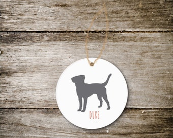Christmas Ornament, Dog Lover, Dog Ornament, Christmas Gift, Dogs, Dog Gift, Dog Lover Gift, Christmas Gift, Holiday Ornament, Any Breed