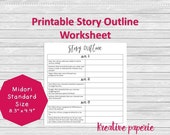 Story Outline Worksheet P...