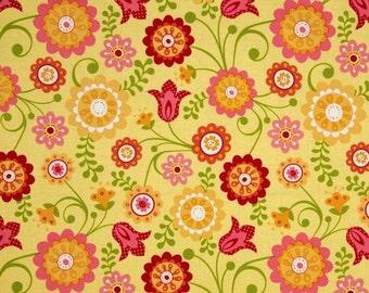 Riley Blake Hello Sunshine Yellow Cotton Fabric