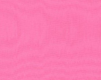 Moda Bella Solid fabric - bubble gum pink - 9900 27