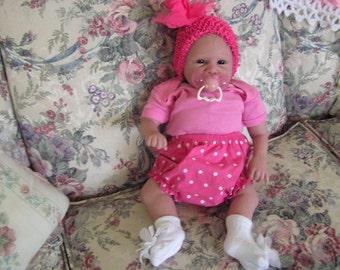 Reborn doll, Girl, One of a kind,  reborn baby, genesis paint, micro hair, OOAK DOLL