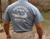 Ogeechee River Boat Co.  Winner of the Made in the South outdoor 2015 logo tshirt