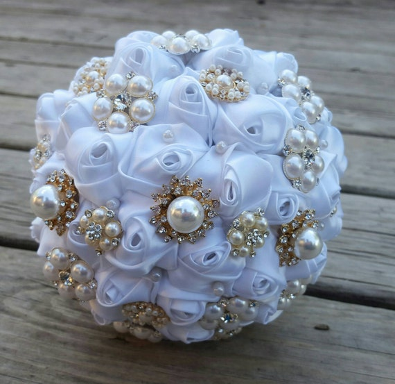 wedding bouquets with bling items similar to brooch bouquet bling rhinestone 8537