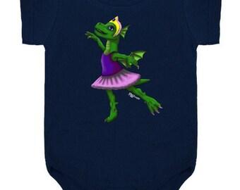 Ballet Dragon Onesie