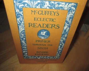 McGuffey's Eclectric Readers Primer Through sixth Revised Editions