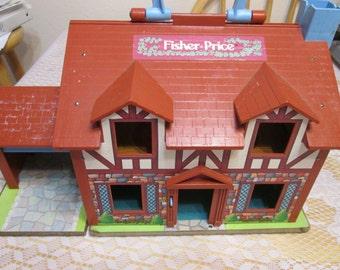Vintage Fisher Price Tudor Playhouse
