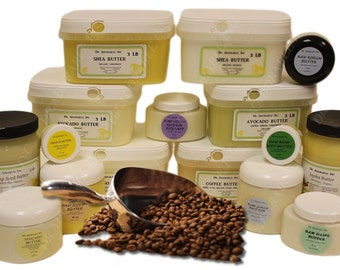 16 Oz  Organic COFFEE BEAN BUTTER Fresh Cold Pressed  Anti Aging