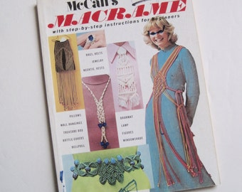 Macrame Accessory Pattern Book - Macrame Household Items - Belt - Curtains - Necklaces